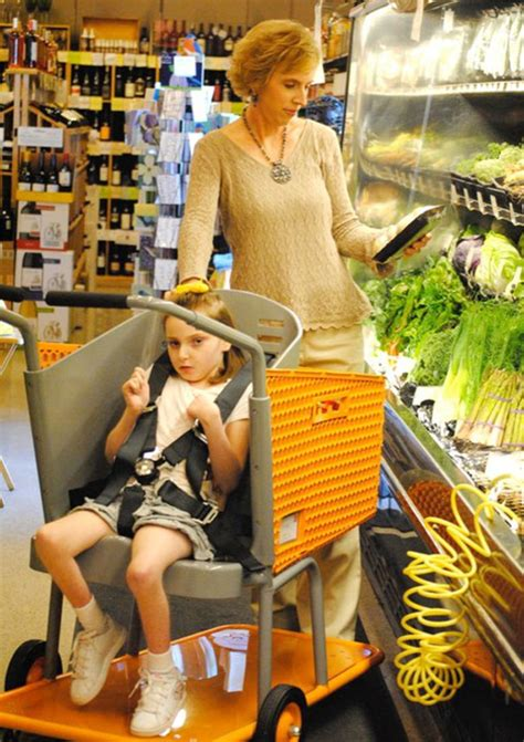 Mom Invents New Shopping Cart To Help Special Needs Kids And Seniors
