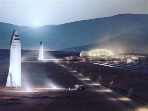 Elon Musk: SpaceX BFR can colonize Mars, build a moon base