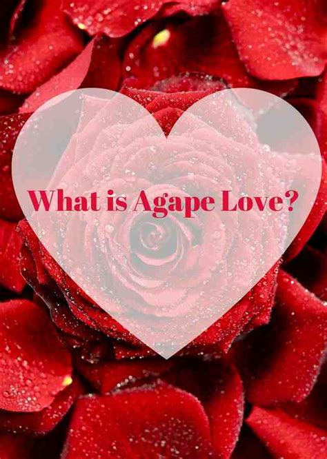 What is Agape Love? - Jeanette's Healthy Living