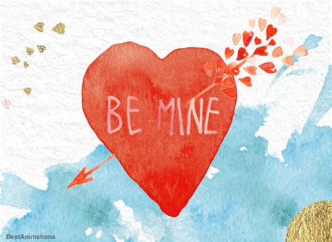 30 Great Be Mine Valentine Gif Images to Share - Best