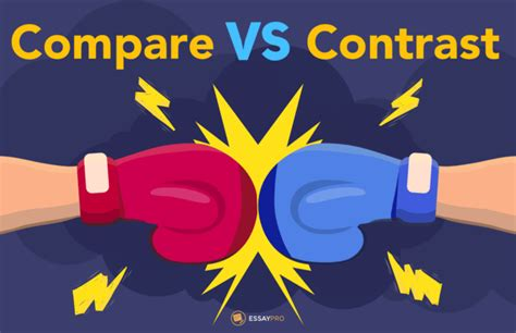 Compare and Contrast Essay Cheat Sheet by EssayPro