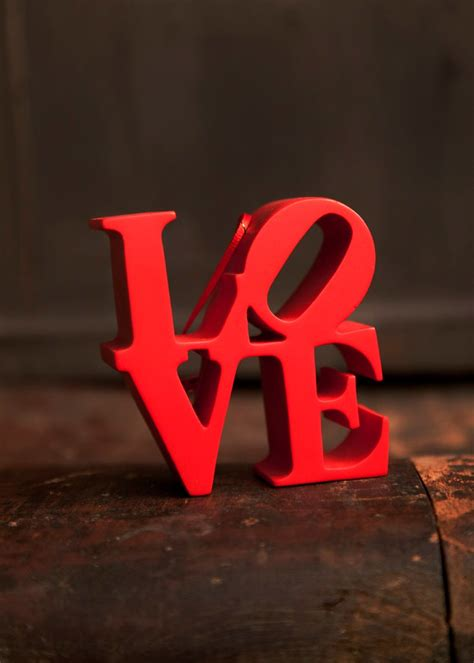 We Heart Philly — Red Love Ornament